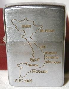 1965, Vietnam map