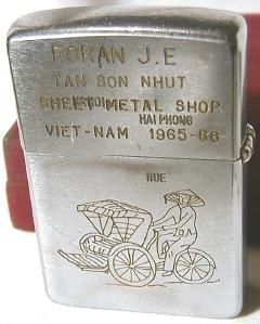 1965, Vietnam engraving (reverse)
